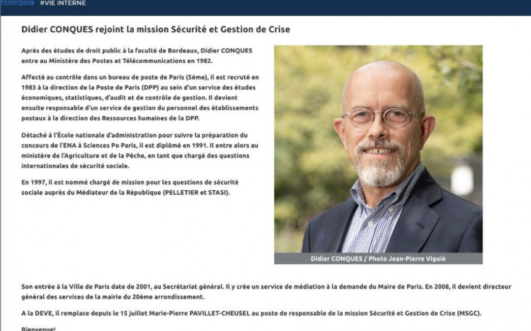 Accusé de harcèlement raciste et sexiste: La Mairie du Vingtième se sépare de son DGS…pour le promouvoir ailleurs